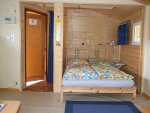 Hütte Doppelbett