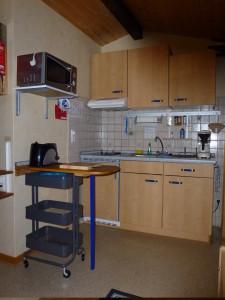 Hütte Küche