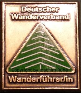 Wanderführer Abzeichen