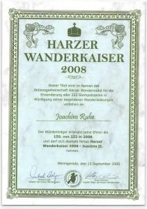 Harzer Wanderkaiser 2008