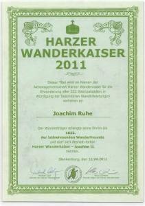 Harzer Wanderkaiser 2011
