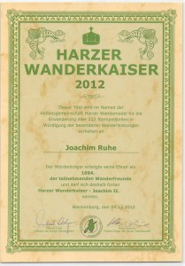 Harzer Wanderkaiser 2012