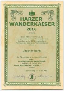 Harzer Wanderkaiser 2016