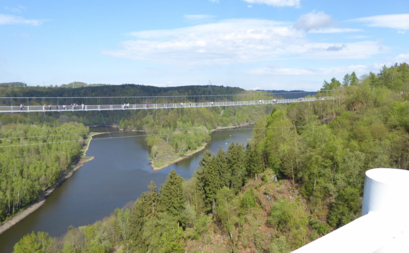Hängeseilbrücke im Rappbodetal